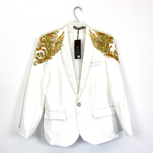 Cloudstyle Sequined Blazer- Front