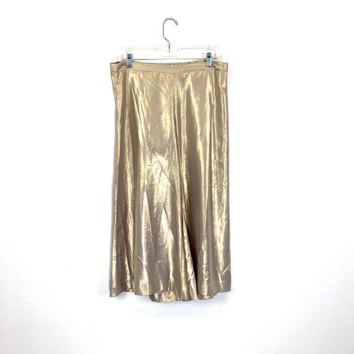 Lily Pulitzer Metallic Culottes- Front