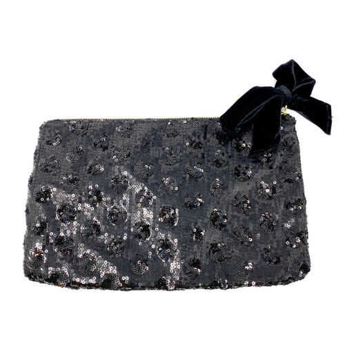 Talbots Sequin Clutch- Front