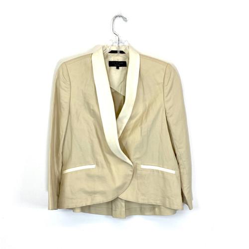 Rag & Bone Linen Blazer- Front