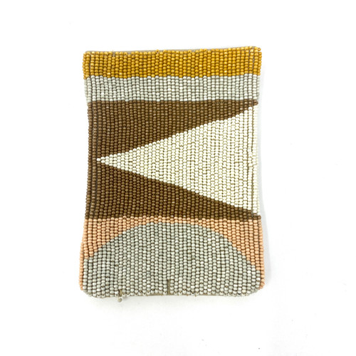 Lizzie Fortunato Beaded Pouch- Front