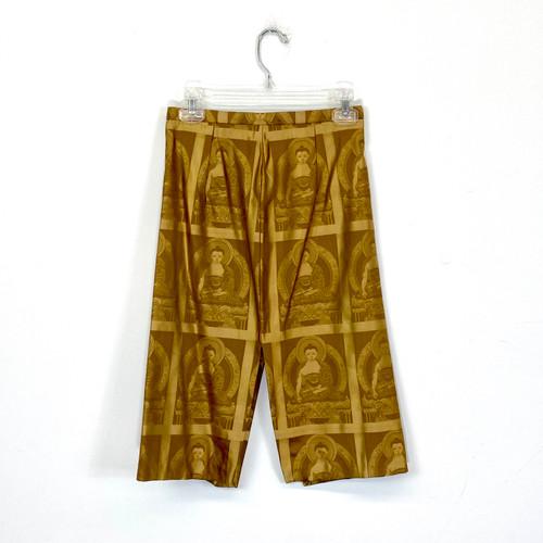 Buddha Brocade Skirt- Front