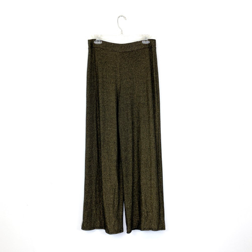 Express Knit Metallic Pants- Front