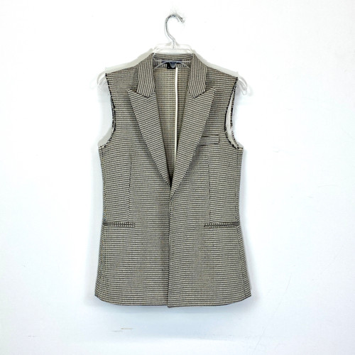 Theory Tweed Vest- Front