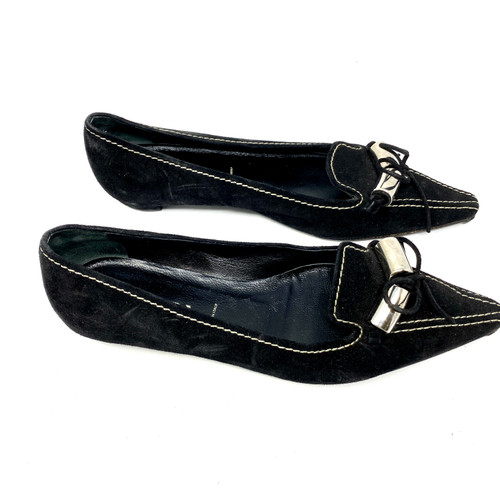 Prada Pointed Toe Flats- Right