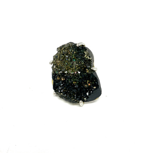 Raw Rock Oversized Cocktail Ring- Front