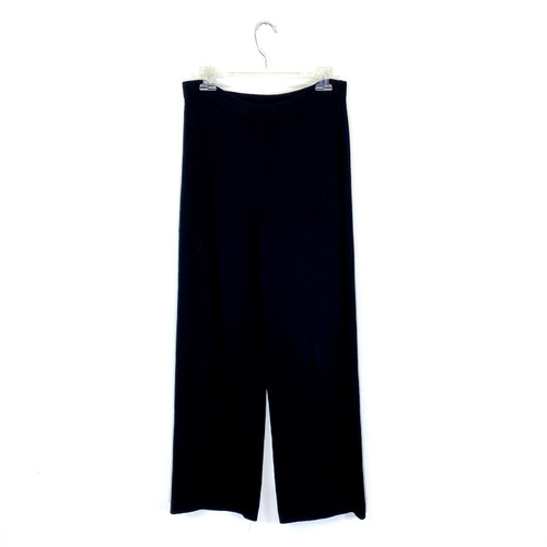 St. John Knit Flowing Pants- Front