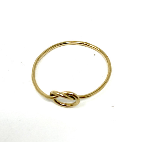 Wire Knot Ring- Front
