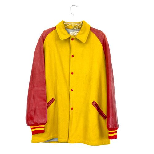 Vintage Two Tone Varsity Jacket- Front