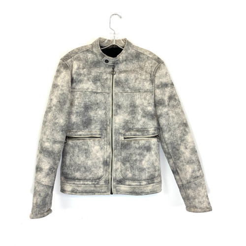Zara Distressed Moto Jacket- Front