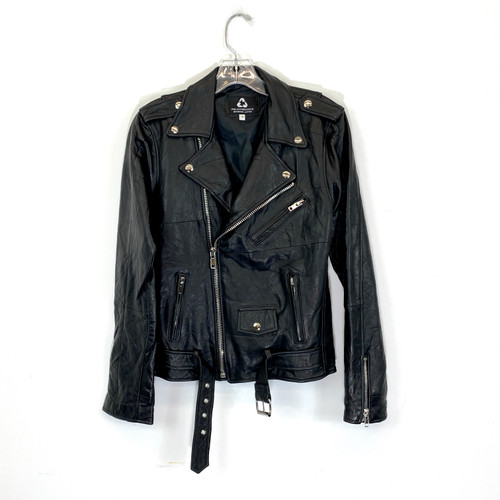 Peleche Coco Reworked Leather Jacket- Front
