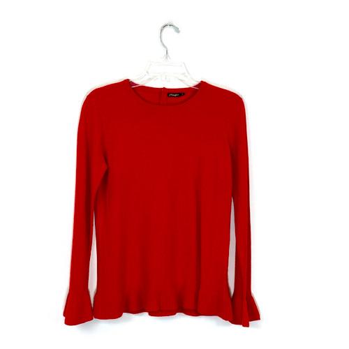 J. McLaughlin Ruffle Cuff Sweater- Front
