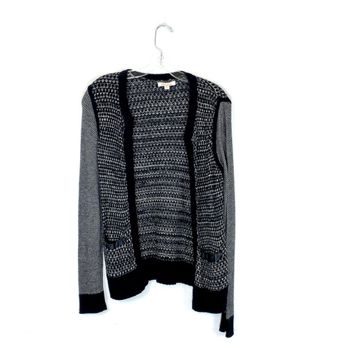 Ella Moss Combination Patterned Cardigan- Front