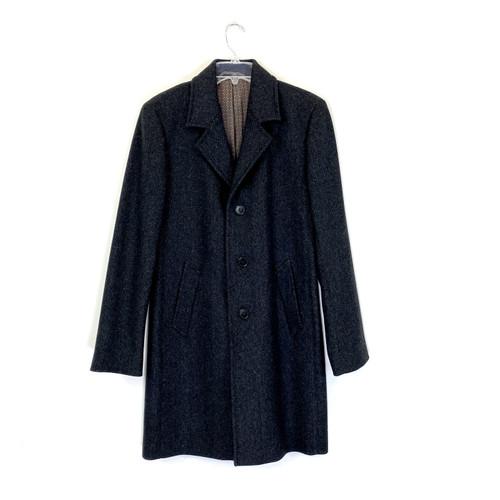 agnès b. Homme Wool Overcoat- Front