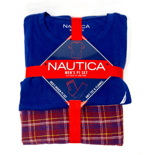 Nautica Pajama Set- Red