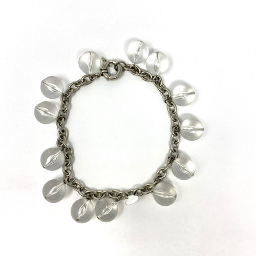 Clear Bauble Choker- Front