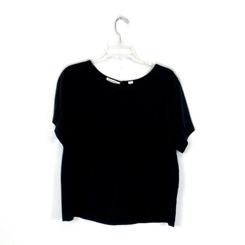 Tahari Relaxed Silk T-Shirt- Front