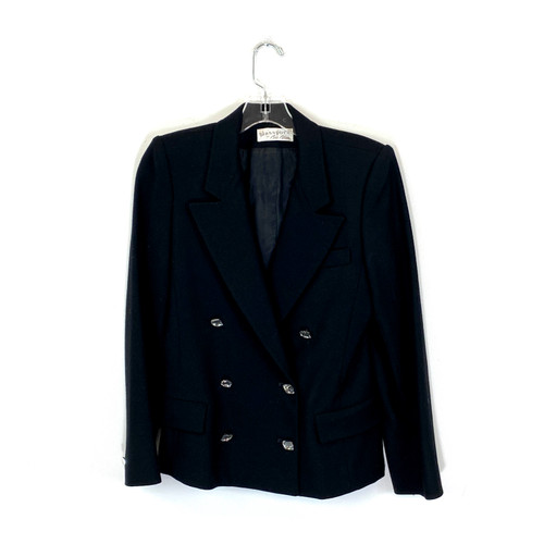 Vintage Bill Blass Double Breasted Blazer- Front