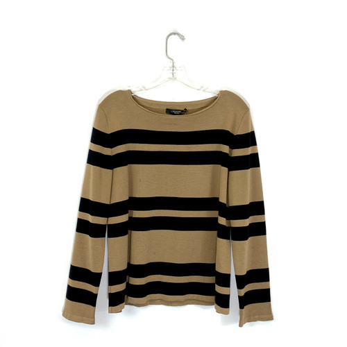 Weekend MaxMara Striped Knit Top- Front