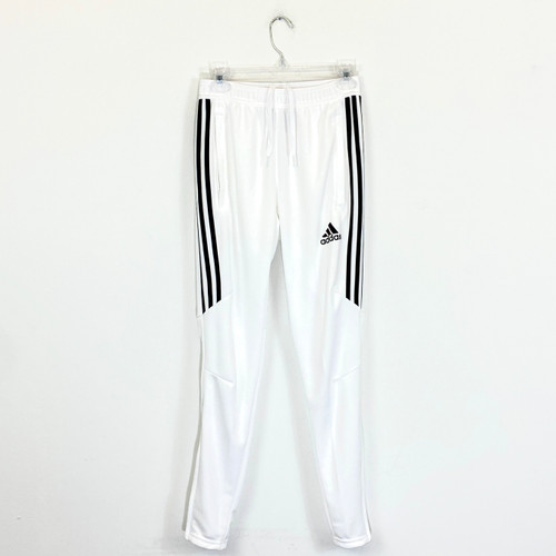 Adidas Tapered Zip Joggers- Front