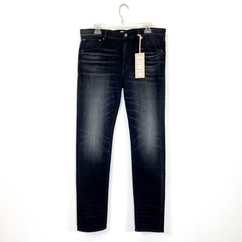 Edwin Dante Skinny Fit Jeans- Black Front