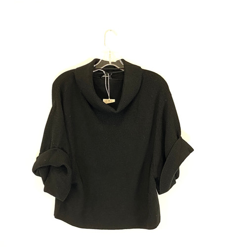 COS Cowl Neck Half-Sleeve Sweater- Front