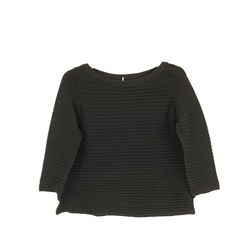COS Textured Three-Quarter Sleeve Pullover- Front