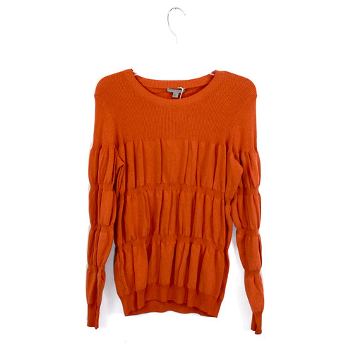 COS Bubble Knit Long Sleeve Top- Front