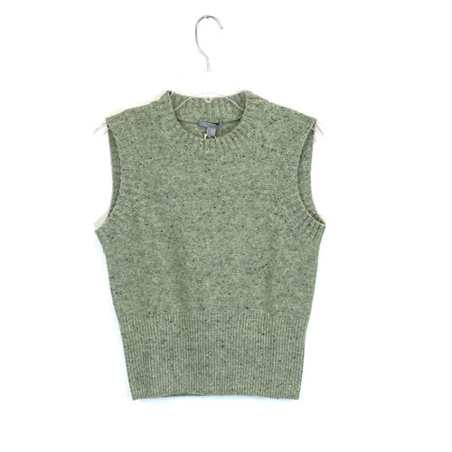 COS Marled Sweater Vest- Front