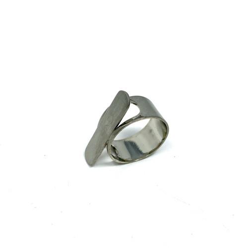 COS Brushed Bar Ring- Thumbnail