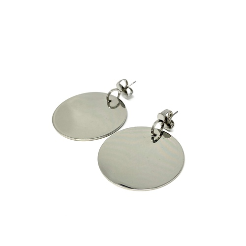 COS Oversized Discs Earrings- Front