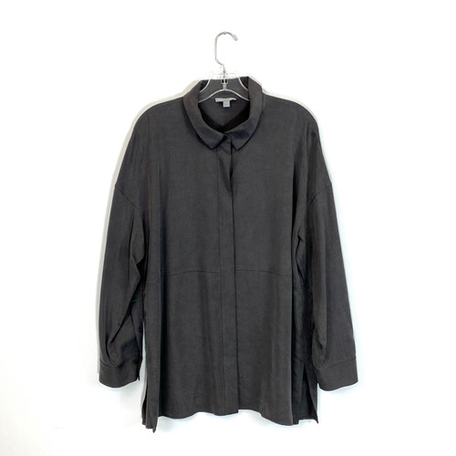 COS Brushed Button Down- Front