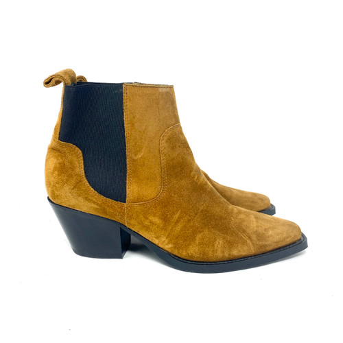 Everlane Suede Western Boot- Right
