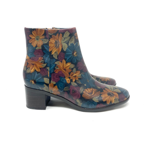 Patricia Nash Floral Print Booties- Right