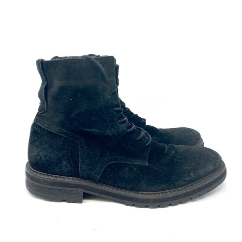 All Saints Suede Lace Up Boots- Right