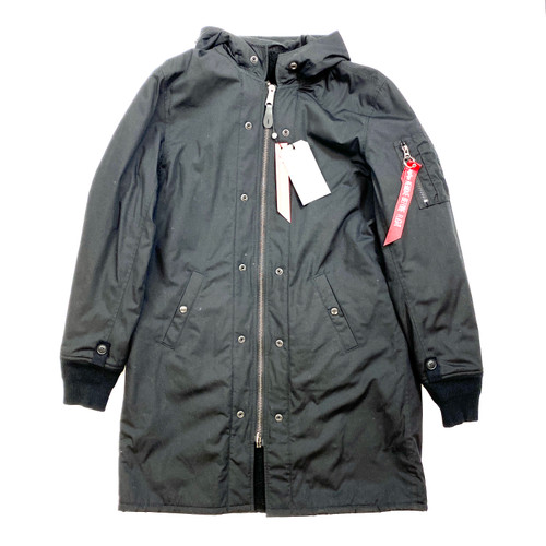 Alpha Industries M-47 Pile Liner Jacket- Front