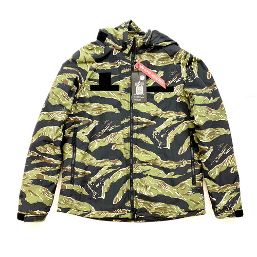 Alpha Industries Tiger Camo Parka- Front