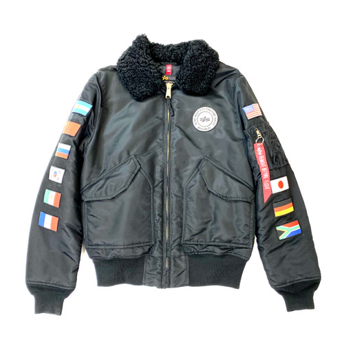 Alpha Industries B-15 Coalition Forces Flight Jacket- Front