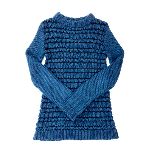 Theory Wool Blend Textured Sweater- Thumbnail