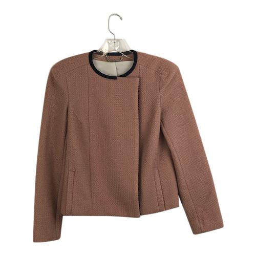 Diane von Furstenberg Collarless Jacket- Front
