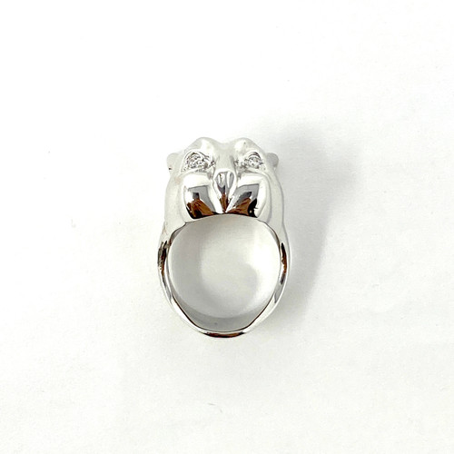 Feline Statement Ring- Front