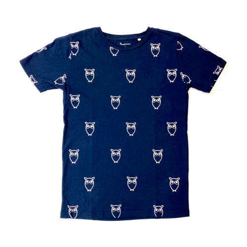 Owl Print T-Shirt- Front
