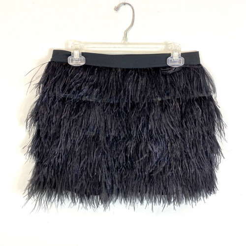Juicy Couture Feathered Mini Skirt- Front
