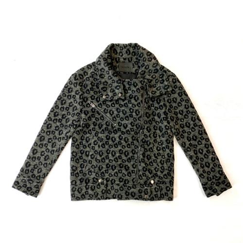 [BLANKNYC] Oversized Moto Jacket- Front