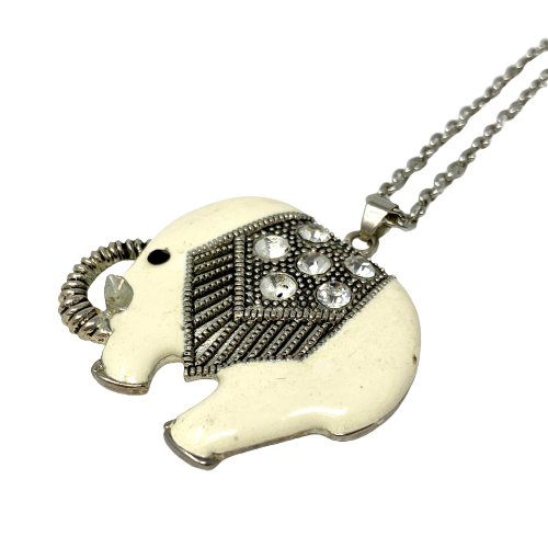 Baby Elephant Necklace- Thumbnail