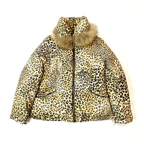Via Spiga Printed Puffer- Front
