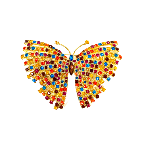 Butterfly Statement Brooch- Front