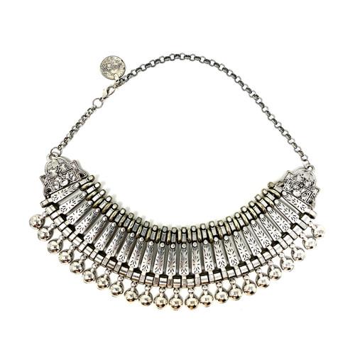 Decorative Collar Statement Necklace- Front
