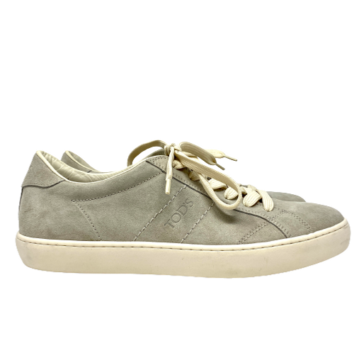 Tod's Suede Logo Sneakers- Right