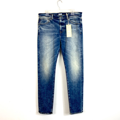 Edwin Dante Stonewashed Skinny Fit Jeans- Front
